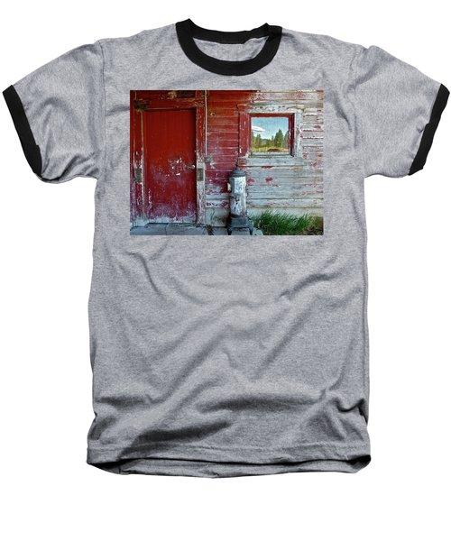 Reflecting The Landscape Baseball T-Shirt