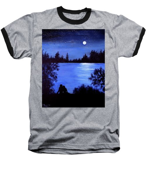 Reflection By The Water Baseball T-Shirt