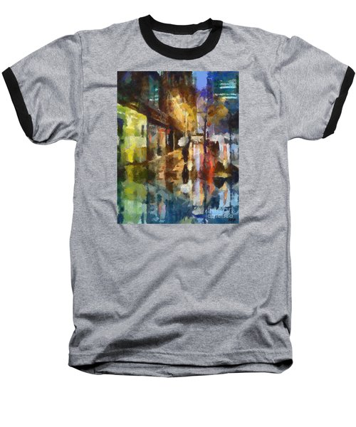 Reflection In The Rain Baseball T-Shirt