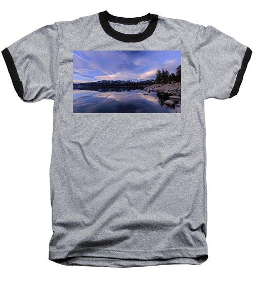 Reflection In Winter Baseball T-Shirt