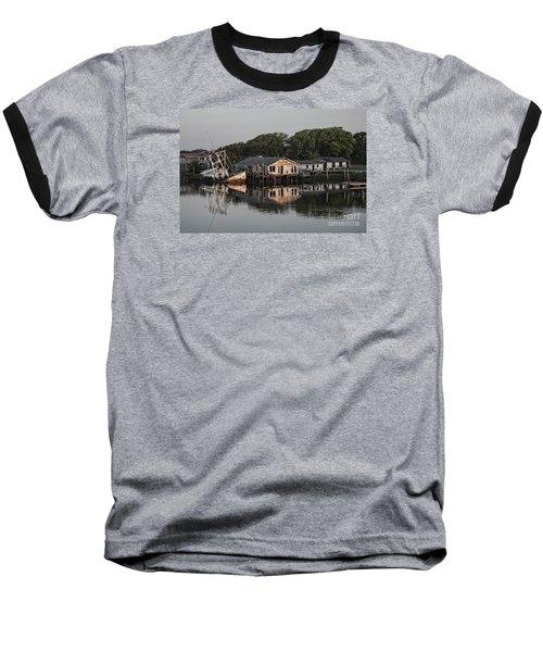 Water Reflection  Baseball T-Shirt