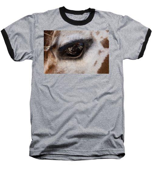 Reflection Of A Friend Baseball T-Shirt