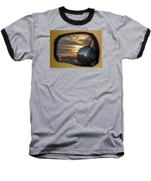 Reflection Of A Sunset Baseball T-Shirt