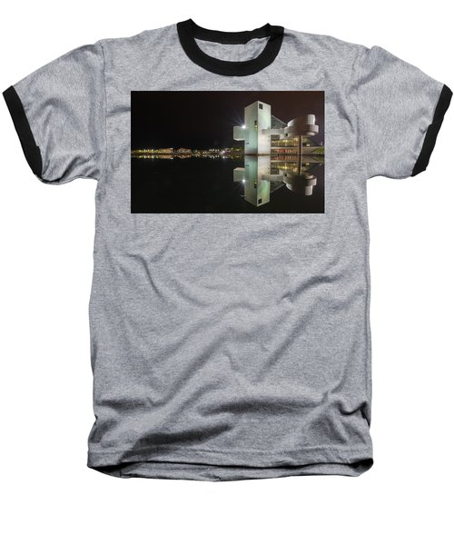 Reflection Of Rock And Roll In Cleveland Baseball T-Shirt