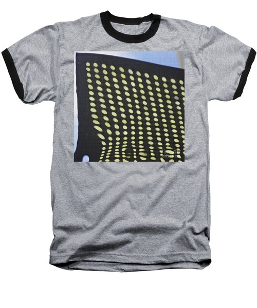 Baseball T-Shirt featuring the photograph Reflection On 42nd Street 3 by Sarah Loft