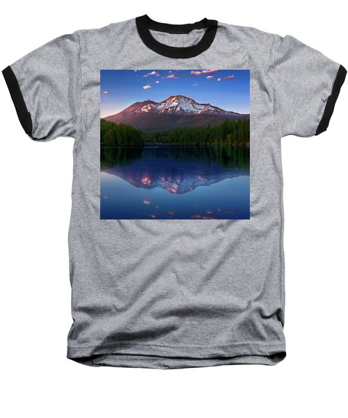 Reflection On California's Lake Siskiyou Baseball T-Shirt