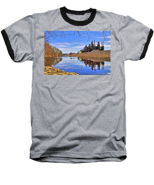 Reflection On The Lehigh - Bethlehem Pa Baseball T-Shirt