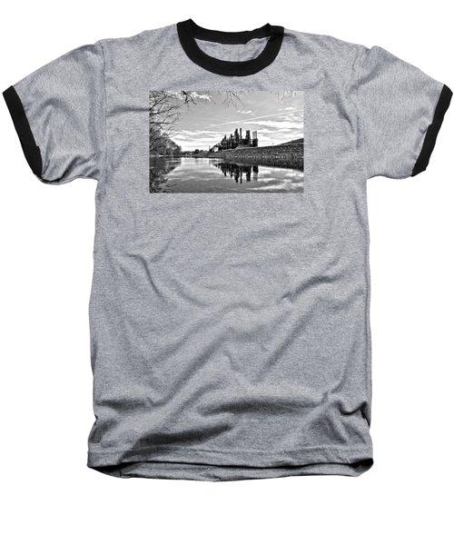 Reflection On The Lehigh Baseball T-Shirt by DJ Florek