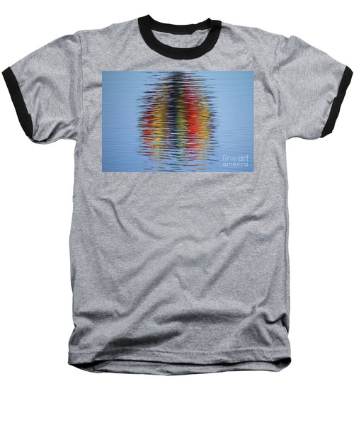 Reflection Baseball T-Shirt by Steve Stuller