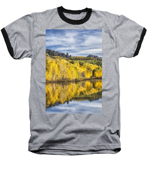 Reflection With Ophir Needles I Baseball T-Shirt