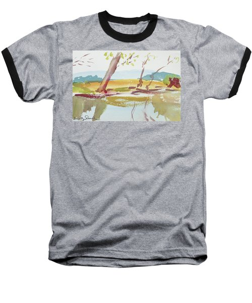 Quiet Stream Baseball T-Shirt