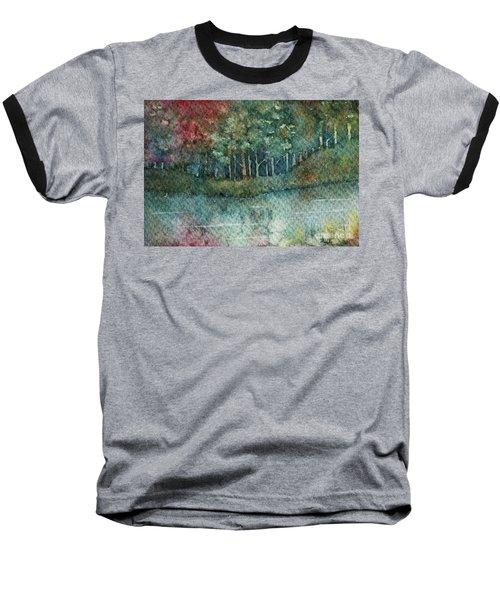 Reflections Along The Water Baseball T-Shirt