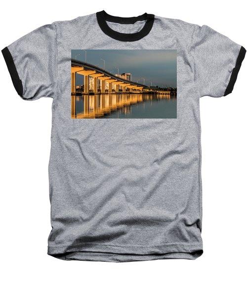 Reflections And Bridge Baseball T-Shirt