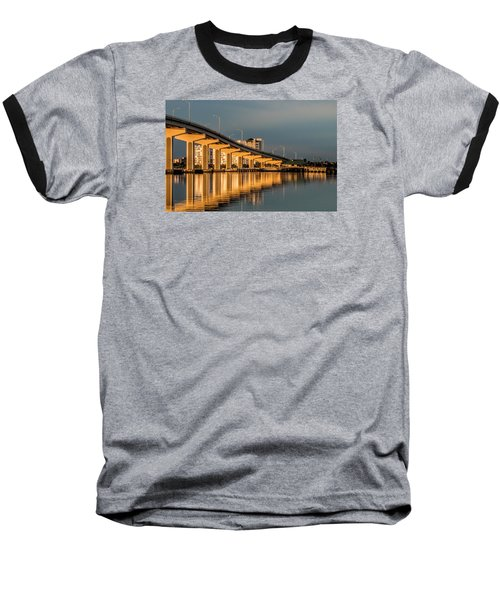 Reflections And Bridge Baseball T-Shirt