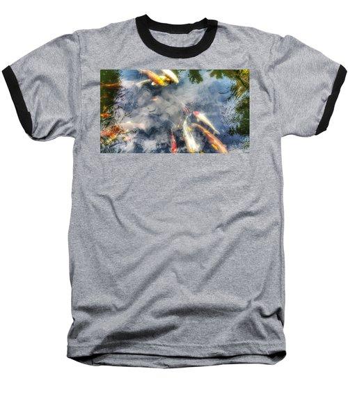 Reflections And Fish 4 Baseball T-Shirt by Isabella F Abbie Shores FRSA