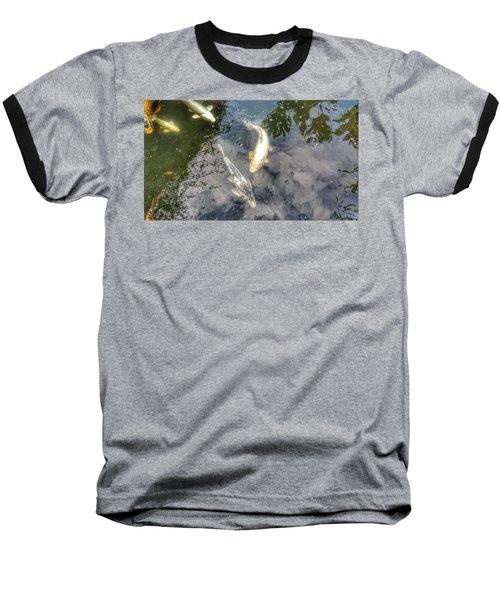 Reflections And Fish 9 Baseball T-Shirt