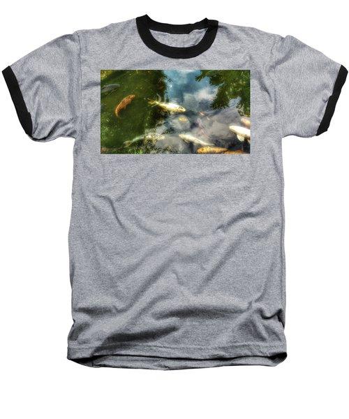 Reflections And Fish  Baseball T-Shirt