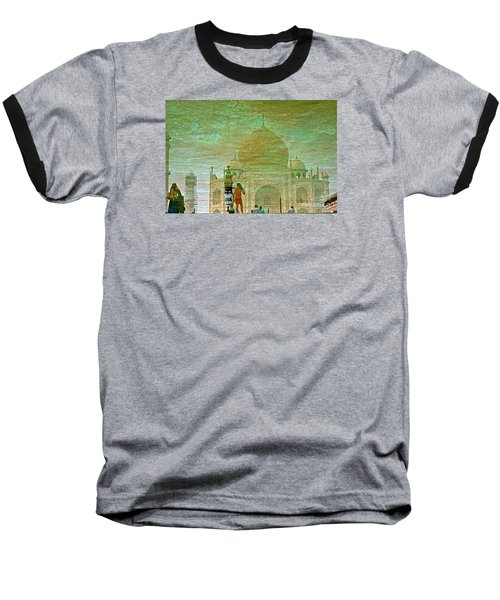 Reflections At The Taj Baseball T-Shirt