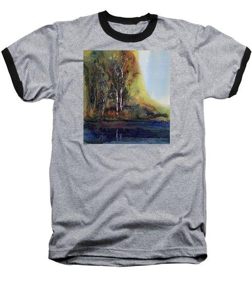 Reflections Baseball T-Shirt by Carolyn Doe