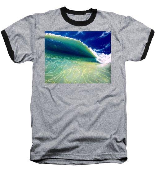 Reflections Baseball T-Shirt by Dawn Harrell