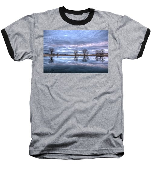 Reflections Baseball T-Shirt by Fiskr Larsen