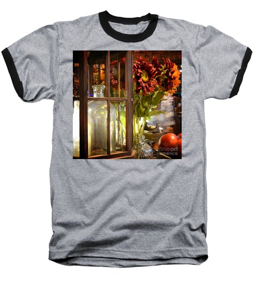 Reflections In A Glass Bottle Baseball T-Shirt
