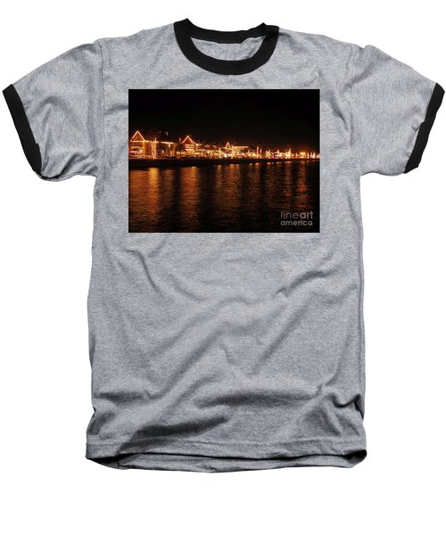 Reflections In The Bay Baseball T-Shirt