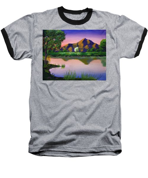 Reflections In The Breeze Baseball T-Shirt