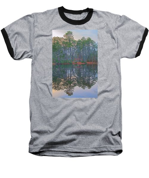 Reflections In The Pines Baseball T-Shirt