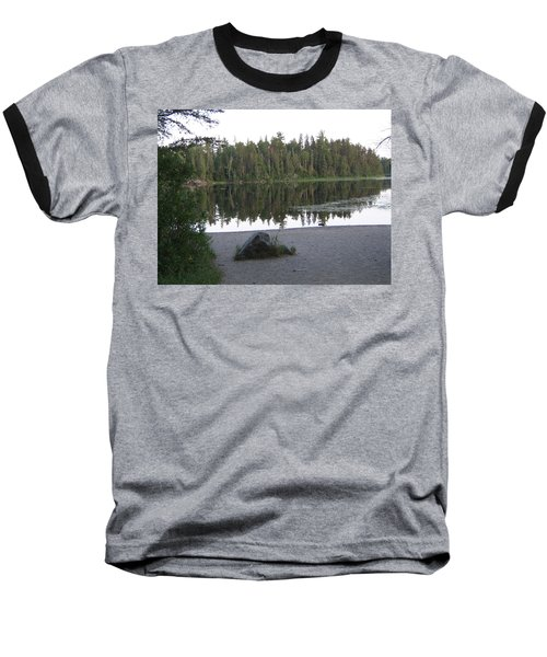 Reflections Lake 1 Baseball T-Shirt