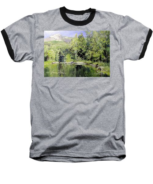 Reflections Baseball T-Shirt by Laurie Rohner