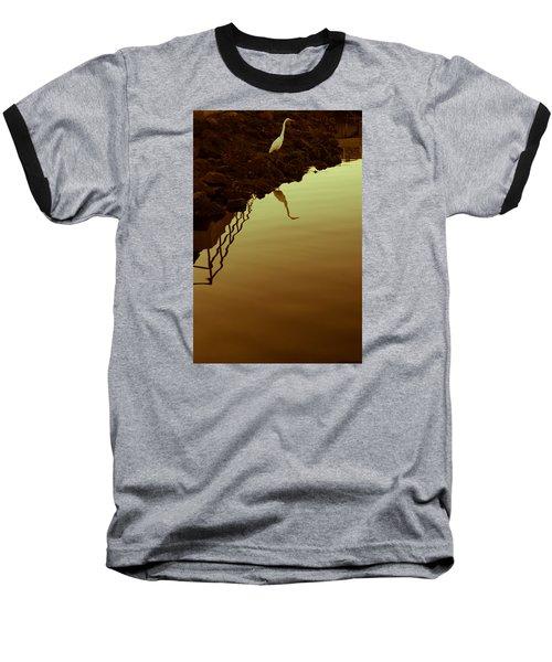 Elegant Bird Baseball T-Shirt