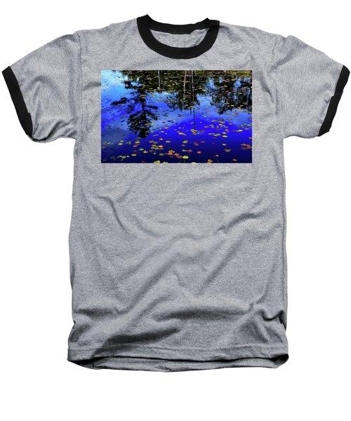 Reflections  Baseball T-Shirt by Lyle Crump