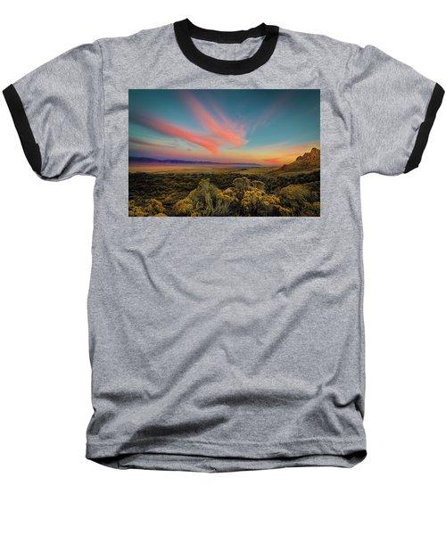 Reflections Of A Sunset Unseen Baseball T-Shirt