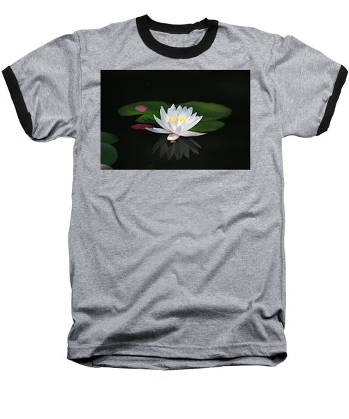 Reflections Of A Water Lily Baseball T-Shirt