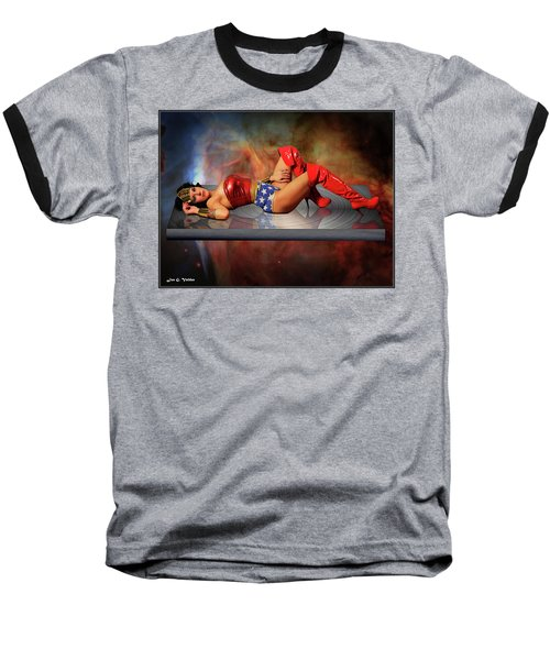 Reflections Of A Wonder Woman Baseball T-Shirt