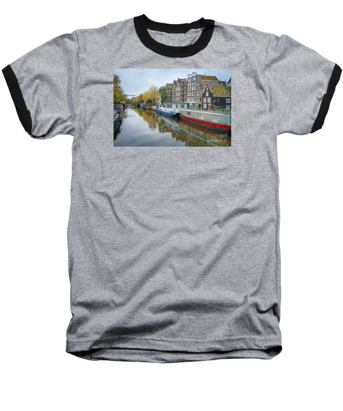 Reflections Of Amsterdam Baseball T-Shirt