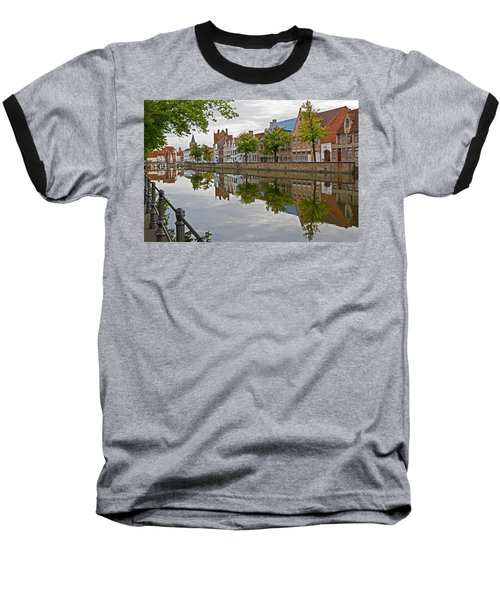 Reflections Of Brugge Baseball T-Shirt