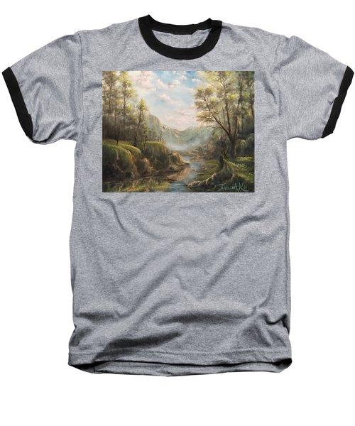 Reflections Of Calm  Baseball T-Shirt