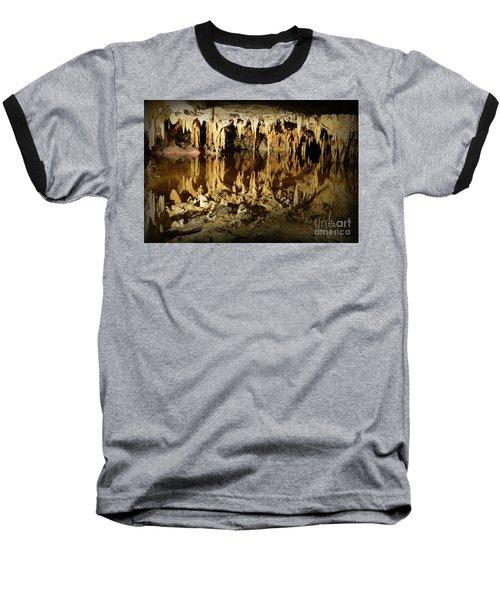 Reflections Of Dream Lake At Luray Caverns Baseball T-Shirt by Paul Ward