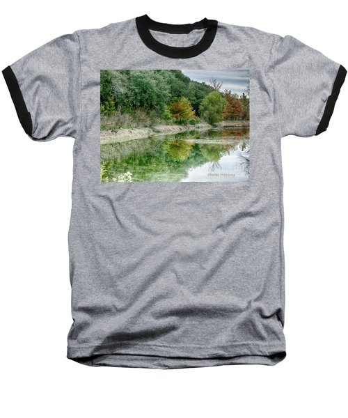 Reflections Of Fall Baseball T-Shirt
