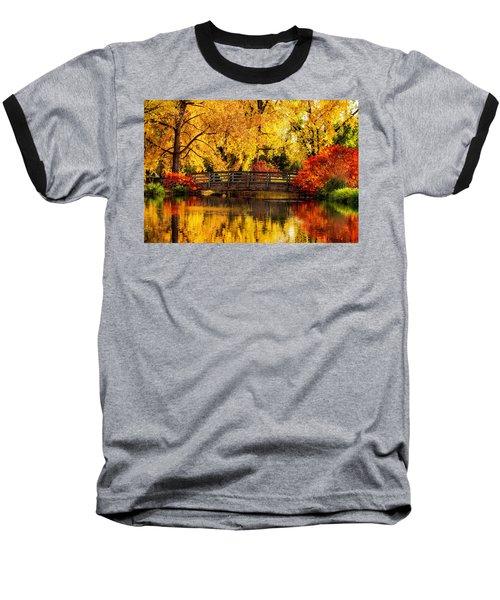 Reflections Of Fall Baseball T-Shirt