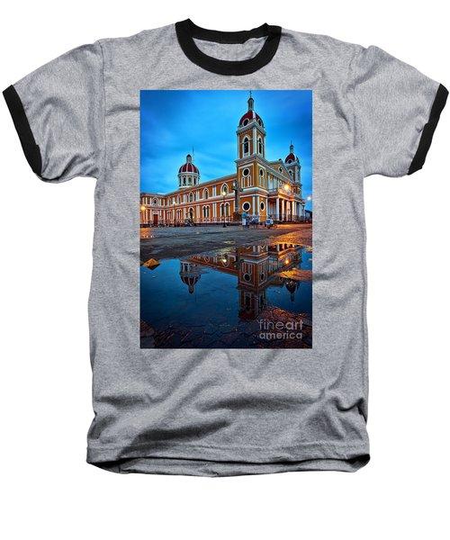 Reflections Of Granada, Nicaragua  Baseball T-Shirt