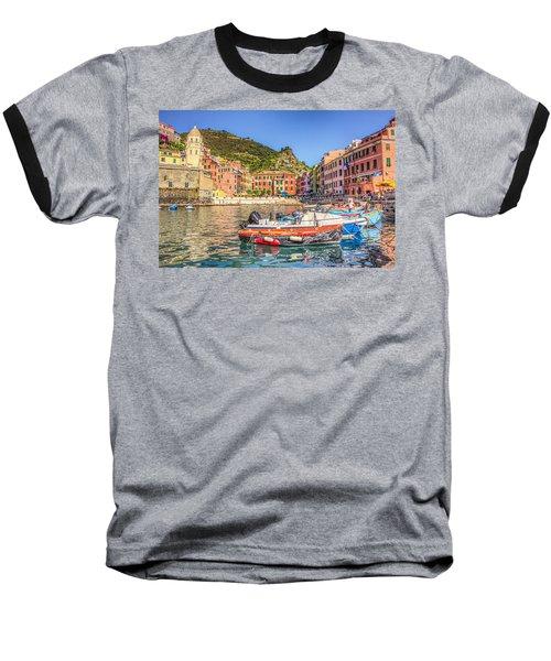 Reflections Of Italy Baseball T-Shirt
