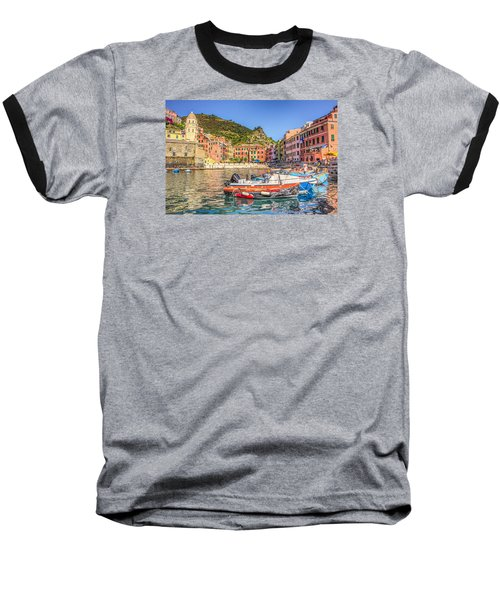 Reflections Of Italy Baseball T-Shirt