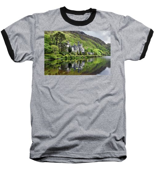 Reflections Of Kylemore Abbey Baseball T-Shirt