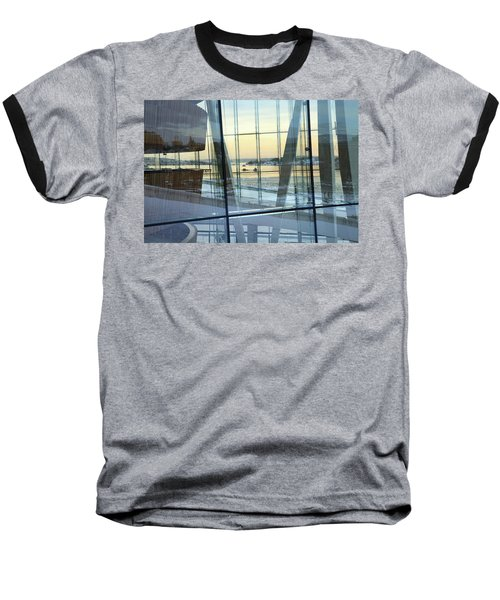 Reflections Of Oslo Baseball T-Shirt