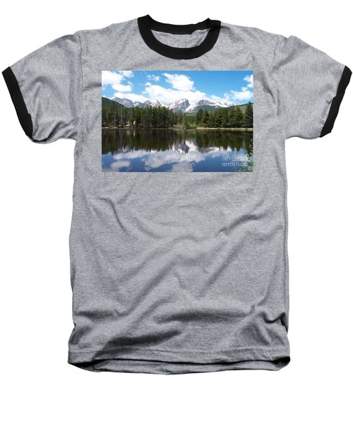 Reflections Of Sprague Lake Baseball T-Shirt
