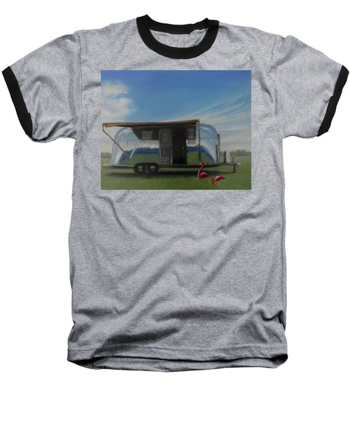 Reflections Of The Airstream Factory Baseball T-Shirt