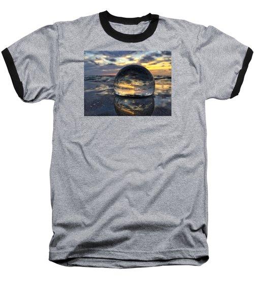 Reflections Of The Crystal Ball Baseball T-Shirt